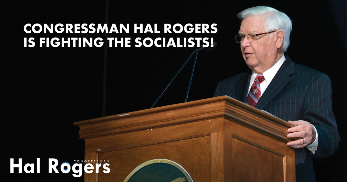 Hal Rogers is Proud of Our Flag!